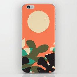 Jungle Sun #2 iPhone Skin