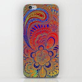 Be'er blue iPhone Skin