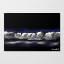 Glowing Nights Canvas Print