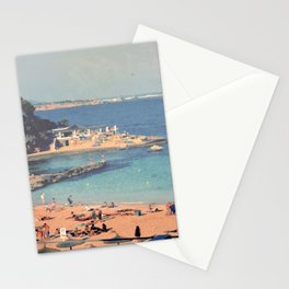 A Private Mallorcan Beach For All Of Us Stationery Cards