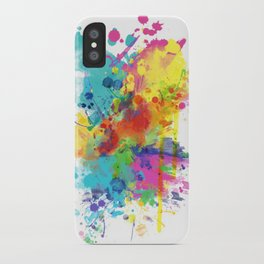 Splat iPhone Case
