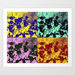 The tone Art Print