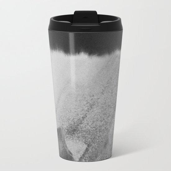 Faceless Charcoal Metal Travel Mug