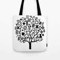 math Tote Bags featuring math by store2u