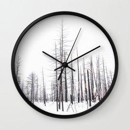 Dead of Winter Wall Clock