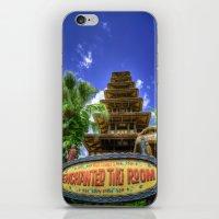 tiki iPhone & iPod Skins featuring Tiki Tiki Tiki Tiki Tiki Phone... by AtDisneyAgain