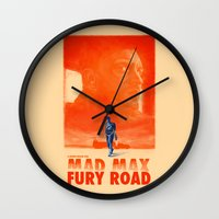 mad max Wall Clocks featuring Mad Max: Fury Road by days & hours