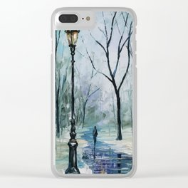 Loneliness Clear iPhone Case