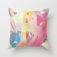 tchmo Throw Pillows featuring Untitled 20140423k by tchmo