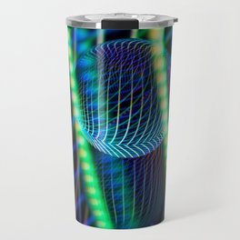 Behind the light glass ball Travel Mug