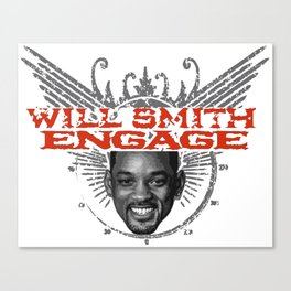 Will Smith Engage Canvas Print