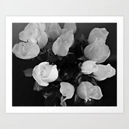 White Wedding Art Print