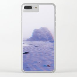 (Listening to) Radio Rock Clear iPhone Case