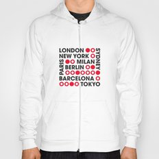 I Love This City Typography Hoody