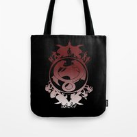 thundercats Tote Bags featuring Battle For Third Earth by Vitalitee