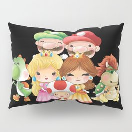 Black Plumber's collection Pillow Sham