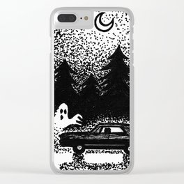 Saving people hunting things Clear iPhone Case