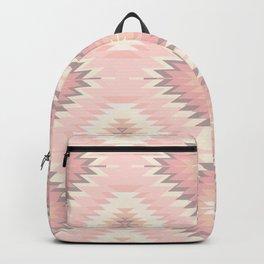 Pastel Pink & Coral Navajo Backpack