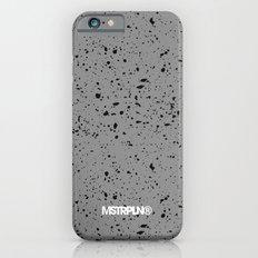 Retro Speckle Print - Grey Slim Case iPhone 6