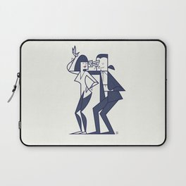 Just shut the fuck up and love me Laptop Sleeve