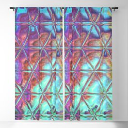 Triangle Glass Tiles 303 Blackout Curtain