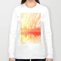 india Long Sleeve T-shirts featuring INDIA by Drexler3