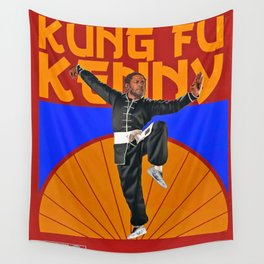 kung fu kenny poster Wall Tapestry