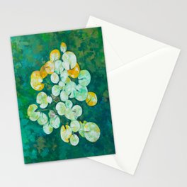 Tranquil lily pond Stationery Cards