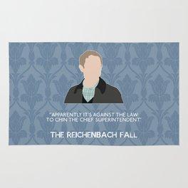 The Reichenbach Fall - John Watson Rug