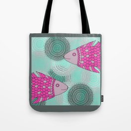 Indian Fish Tote Bag