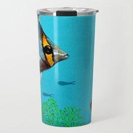 Butterfly & Bigeye fishes Travel Mug