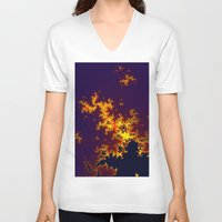 europe V-neck T-shirts featuring europe by donphil