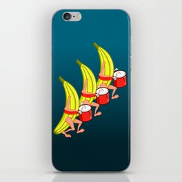 Banana Marching Band iPhone Skin