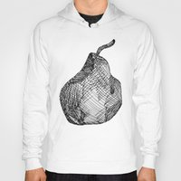 pear Hoodies featuring Pear by Of Newts and Nerds