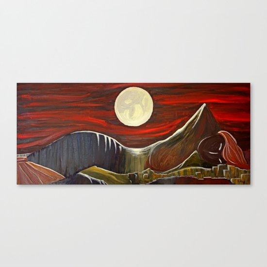 Gaia and Luna Grande Canvas Print