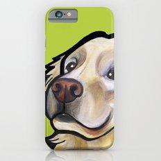 George the golden retriever iPhone 6s Slim Case