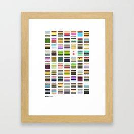 Sanchez & Smith - Minimalism Collection Framed Art Print