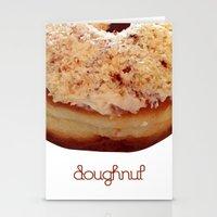 doughnut Stationery Cards featuring Doughnut by lumvina