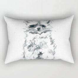 Wild Racoon Rectangular Pillow