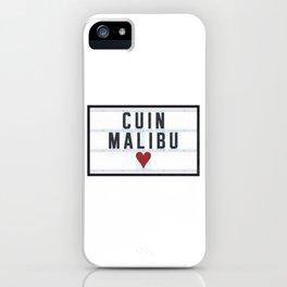 CUIN Malibu iPhone Case