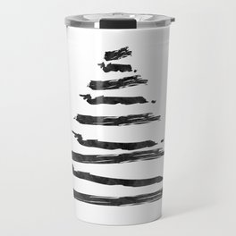 Modern Christmas Tree Travel Mug