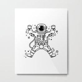 Cosmic Stranger 4 Metal Print