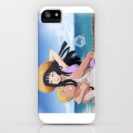 Summer naruhina iPhone Case