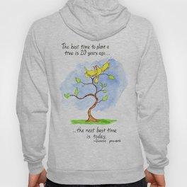 Tree Proverb Hoody