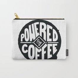 POWERED BY COFFEE Carry-All Pouch