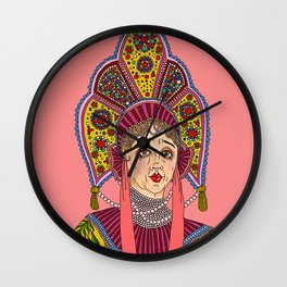 Kokoshnik Wall Clock