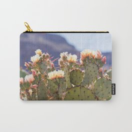 Prickly Pear Cactus Blooms, II Carry-All Pouch