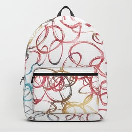 Abstract Funny Pattern Backpack