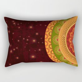 Indian Mandala Rectangular Pillow