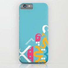 Blue Arabic iPhone 6s Slim Case